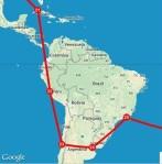 central south america line