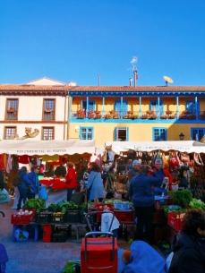 Street Market in Oviedo