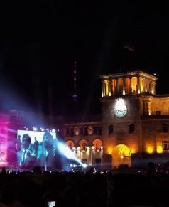 Live concerts in Yerevan