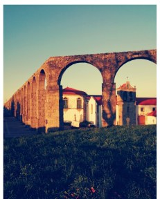 Acqueduct in Vila do Conde